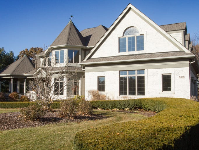A spacious house in Genoa Township, shown Wednesday,