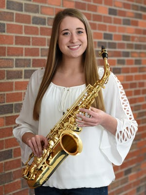 Leola's Taylor Fauth plays the saxophone in her band and jazz band. Fauth plans to attend SDSU for civil engineering with an emphasis in environmental engineering.