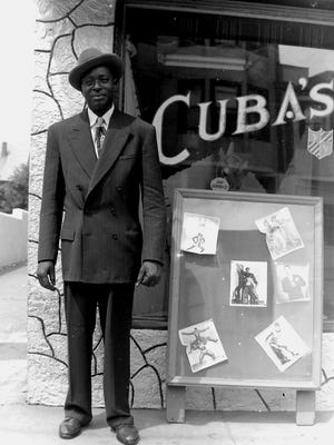 William Niblack in 1946, outside Cuba's nightclub on the West Side of Asbury Park.