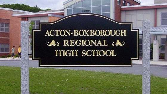 Acton-Boxborough Regional High School.