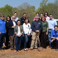 Clarksville-based Frontier Basement Systems is moving its operations to Cheatham County. The company hosted a ground-breaking ceremony on April 15 at the site of its future home at 5150 Highway 41-A in Joelton.