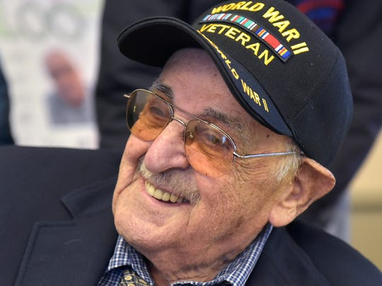 Alfred Pappalardo is 100 years old.