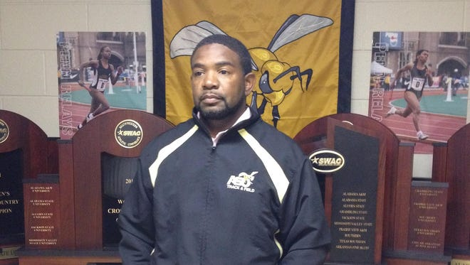 Alabama State track coach Ritchie Beene is seeking his third straight sweep of cross country, indoor and outdoor SWAC titles this weekend.