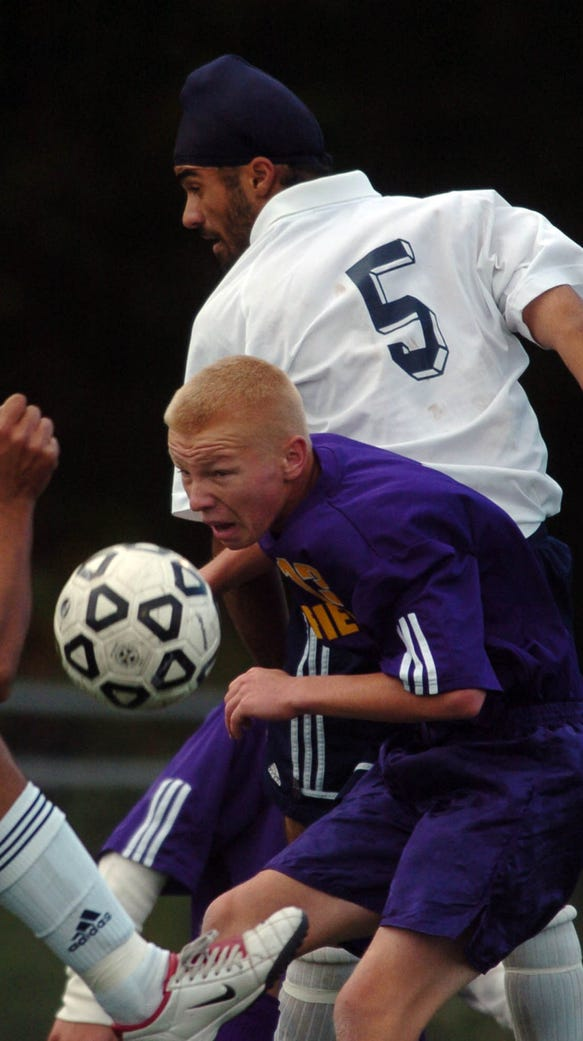 From 2004: Hackensack Ramandeep Singh (5) and Garfield