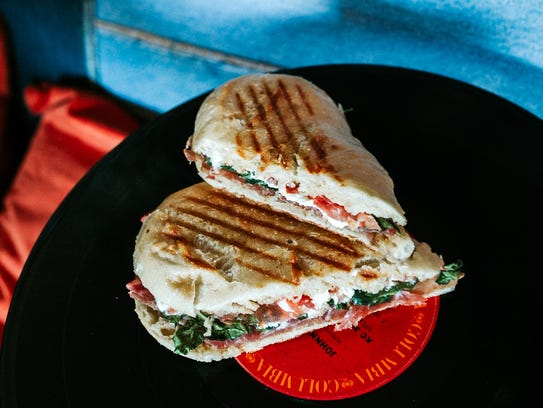 An Italian panini on the lunch menu at Public House.