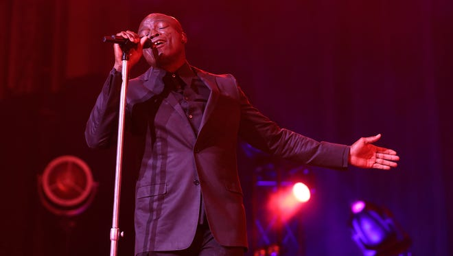 Seal was the headliner of  the first night of Xerox Rochester International Jazz Festival.