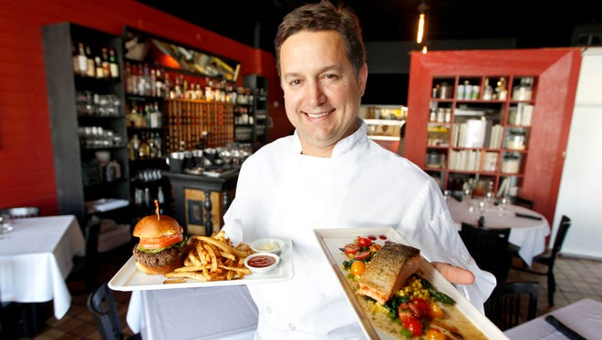 Chef Enosh Kelley of Bistro Montage, 2724 Ingersoll Ave., serves contemporary and classic French cuisine for lunch and dinner.