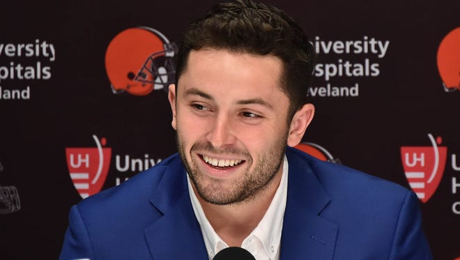 Browns No. 1 overall pick Baker Mayfield
