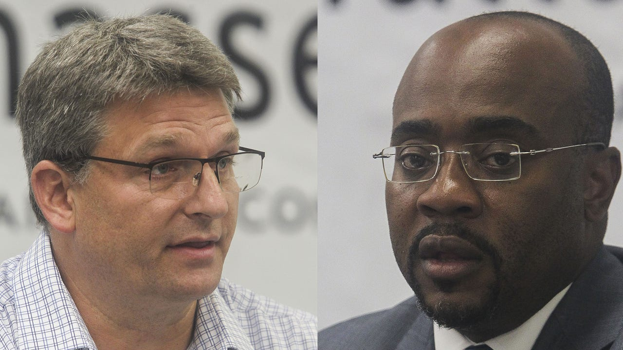Live: Editorial Board meets with the candidates for Supervisor of Elections - Mark Earley and Alan Williams.