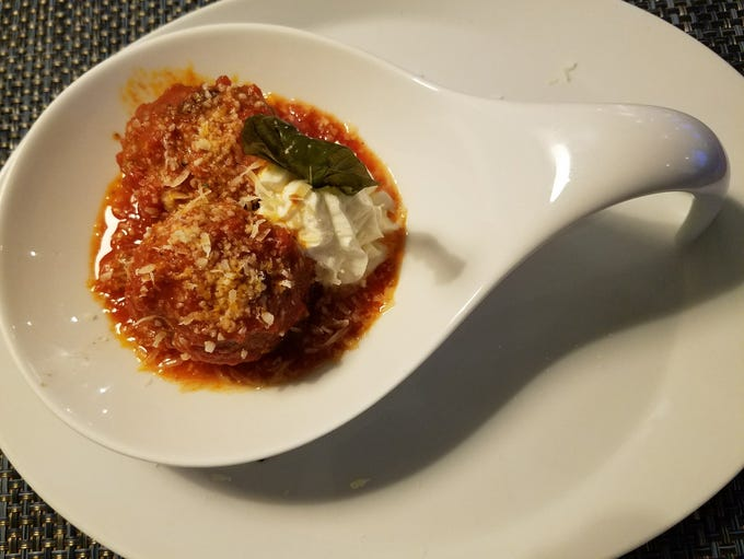Drift Kitchen & Bar's house special meatballs with