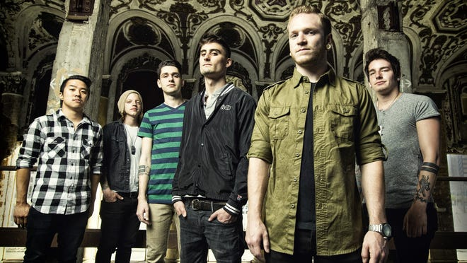 Detroit-area band We Came As Romans, 2014