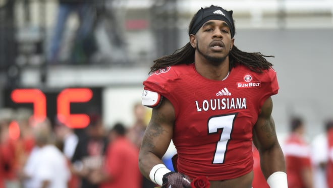 Former UL CB Corey Trim will be in the Carolina Panthers NFL rookie minicamp this week