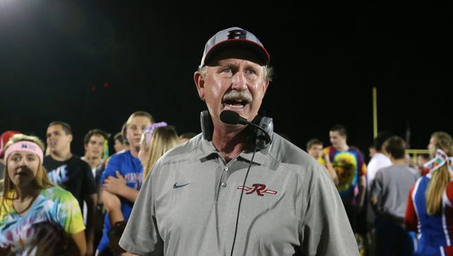 FILE – Bruce Scifres resigned as football coach at Roncalli High School after 27 years there.