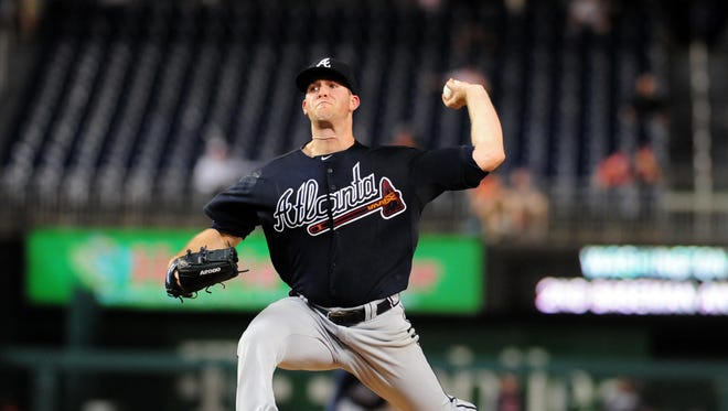 Alex Wood is 7-6 with a 3.54 ERA with the Braves.