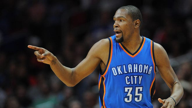 Kevin Durant is the latest NBA star to join forces for a 'super-team'.