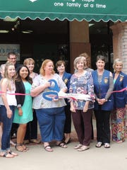 Concho Cadre members joined Kathy Daniel, Angela Nowell, Laura Lewis and others for the grand opening of Children's Hope Residential Services in Park 2400 on College Hills Blvd. in San Angelo on Aug. 15.