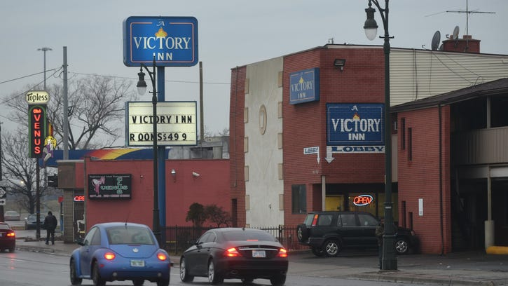 The Victory Inn on Michigan Avenue and Wyoming Avenue in Detroit.