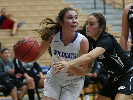 Mesquite guard Shaylee Gonzales is back.
