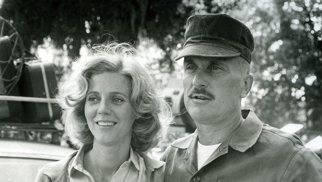 Blythe Danner and Robert Duvall star in the 1979 motion picture 'The Great Santini.'