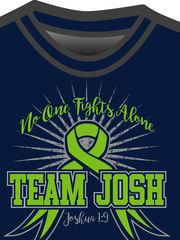 Get your Team Josh tees at gofundme.com/bbcnxo.