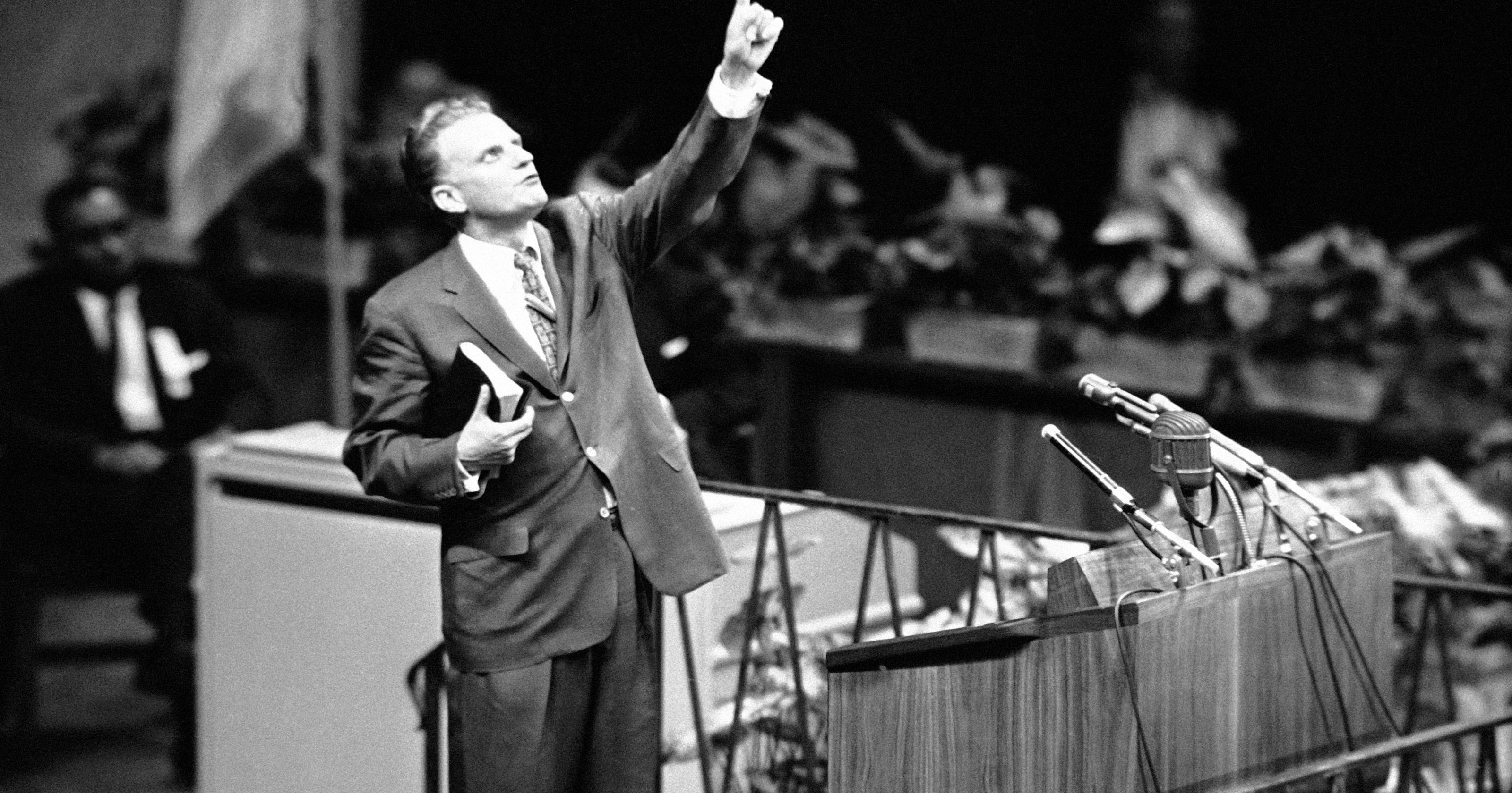 Billy Graham's crusade first saved New York City in 1957