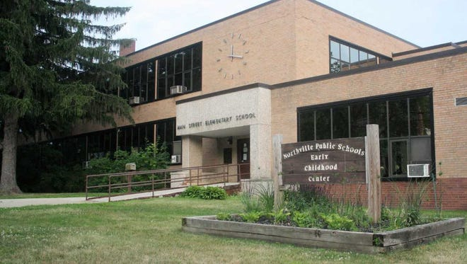 The former Main St. Elementary School building in Northville will be either demolished or repurposed in the coming months.