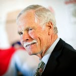 Ted Turner was hospitalized in South America Friday.