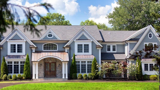 This custom home in Boonton Township built and formerly occupied by singer Kevin Jonas and his family was re-listed last week for $2.325 million.