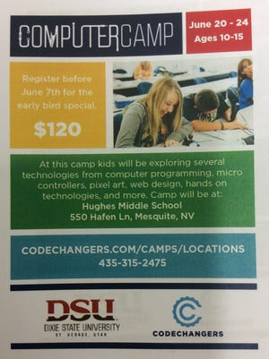 Mesquite will host its first-ever coding camp at Hughes Middle School on June 20-23 for children ages 10-15.