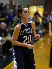 Hannah Callihan came off the bench to score 12 points