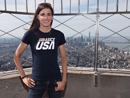Gold Medal Triathlete Gwen Jorgensen announces she will run TCS New York City Marathon