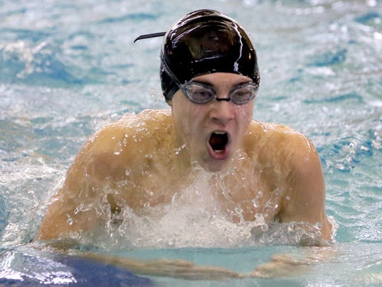 Wauwatosa Boys Swimming at Woodland Championships
