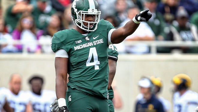Former Michigan State defensive lineman Malik McDowell