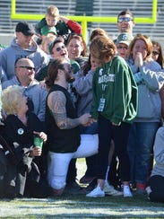 After the spring game April 1, Chris Frey dropped to