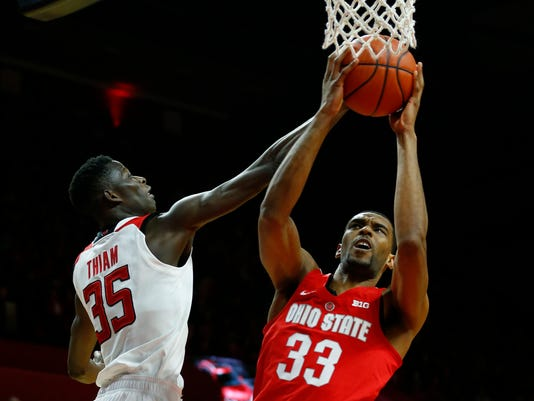 NCAA Basketball: Ohio State at Rutgers
