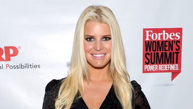 Jessica Simpson, shown in May.