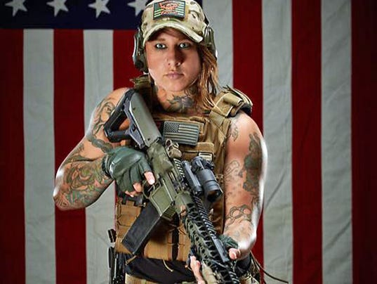 female army vet helps fight poachers in africa