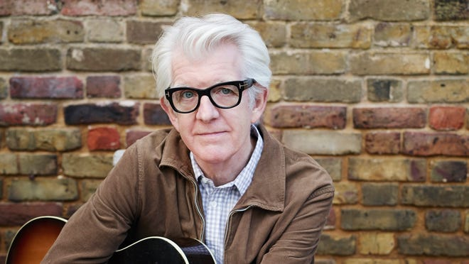 """Nick Lowe will release his first holiday album, """"Quality Street: A Seasonal Selection for All the Family,"""" on Oct. 29."""