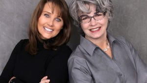Liz Rosenfeld and Marion Kyberd of Turning Point Staging and Design have won a customer service award from Houzz.