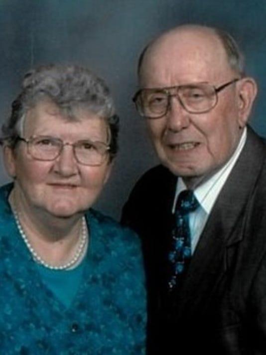 Anniversaries: Kenneth Harris & Betty Harris