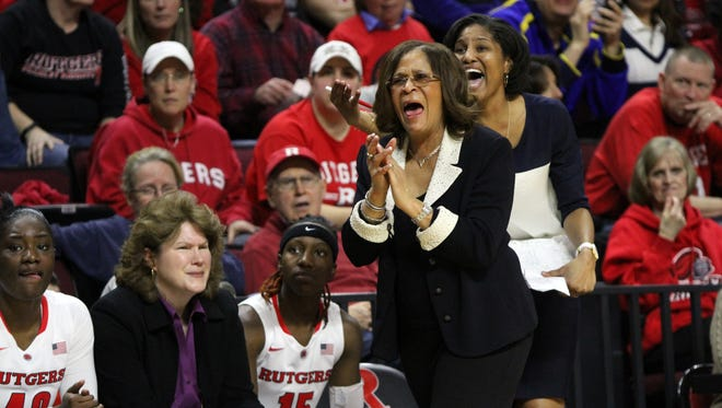 File photo Rutgers women?s basketball coach C. Vivian Stringer will be back next season. Rutgers women's basketball coach C. Vivian Stringer will be back on the sidelines next season.