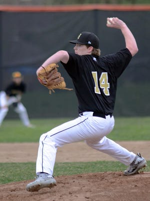 Howell's Evan Maize pitched a five-inning shutout as the Highlanders won both of their games over Milford on Wednesday.
