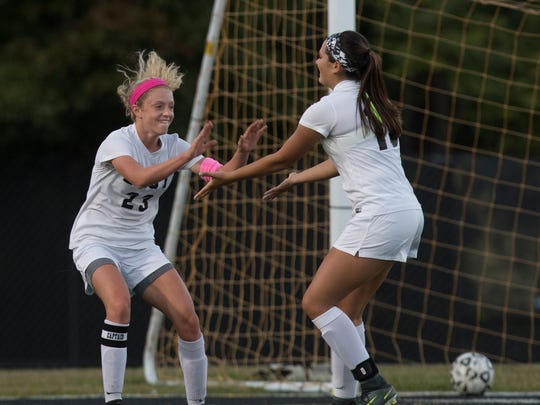 Toms River South vs Toms River East Girls Soccer in