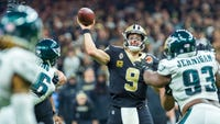 With one year left on his contract and at age 40, Drew Brees is in position for a second Super Bowl