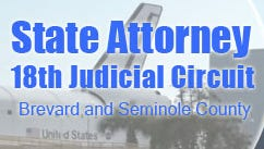 The state attorney's office for the 18th judicial district serves both Brevard and Seminole counties.