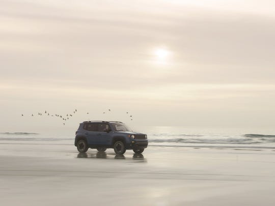 """Jeep is aiming to capture the attention of hip, young buyers by using the the song """"Renegades"""" by X Ambassadors to promote its new Jeep Renegade SUV"""