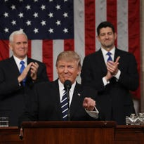 Trump seeks to move forward after well-received speech