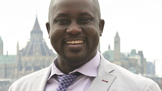 This undated photo provided by Carleton University shows Pius Adesanmi. Adesanmi, a Nigerian professor with Carleton University in Ottowa, Canada, was one of the victims who died March 10, 2019, when an Ehtiopian Airlines jet crashed shortly after takeoff in Ethiopia.