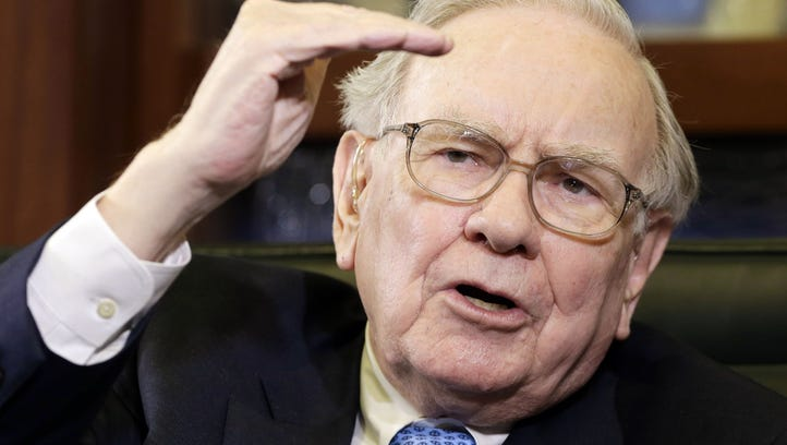 In this May 5, 2014 file photo, Berkshire Hathaway