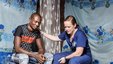 Volunteering on a hospital ship in Africa, Springfield nurse brings relief to the dying